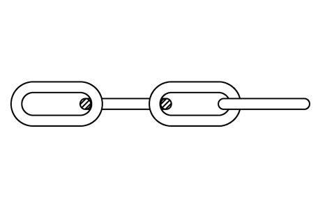DIN 763 - Round long link chain