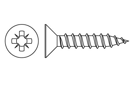 DIN 7505-A - Chipboard screws