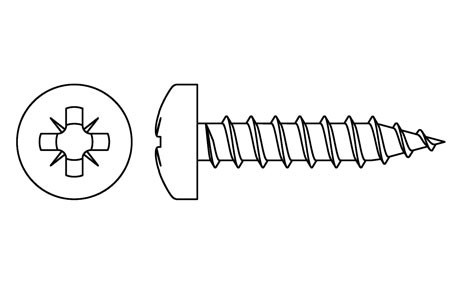 DIN 7505-B - Chipboard screws