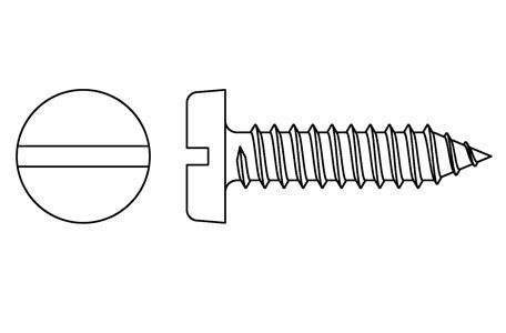 DIN 7971 - Self tapping screws