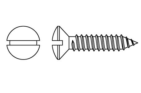 DIN 7973 - Self tapping screws