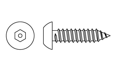 HX 10036 - Security screws