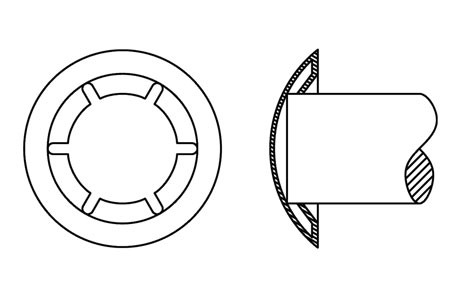 HX 10042 - Fixing washers for shafts