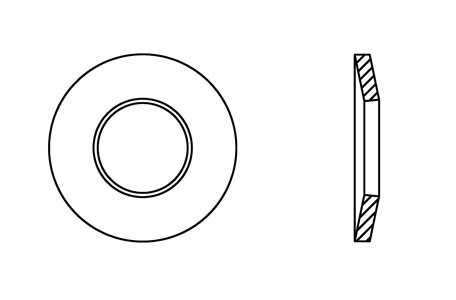 DIN 6796 - Conical spring washers